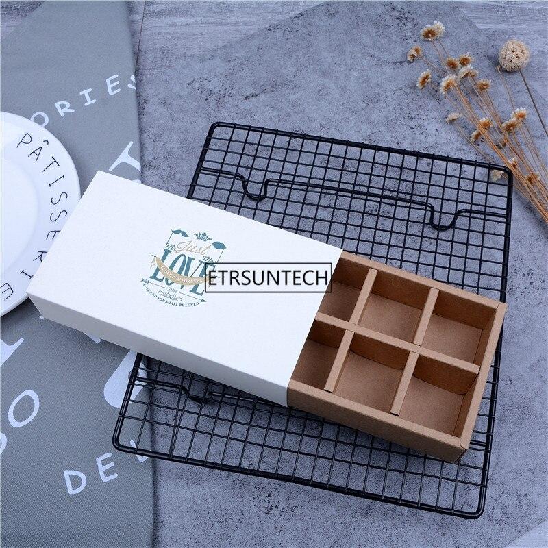 """사랑스러운 """"사랑"""" 장미와 흰색 꽃 macarons 상자 케이크 상자 초콜릿 머핀 비스킷 상자 쿠키 패키지-에서선물가방&포장용품부터 홈 & 가든 의  그룹 1"""