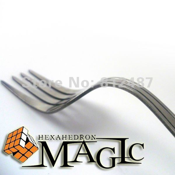 Ellusionist original just without box- Shift / self bending FORK /Psy fork - close-up mentalism magic trick / wholesale nut off bolt screw close up magic trick micro psychic rotating