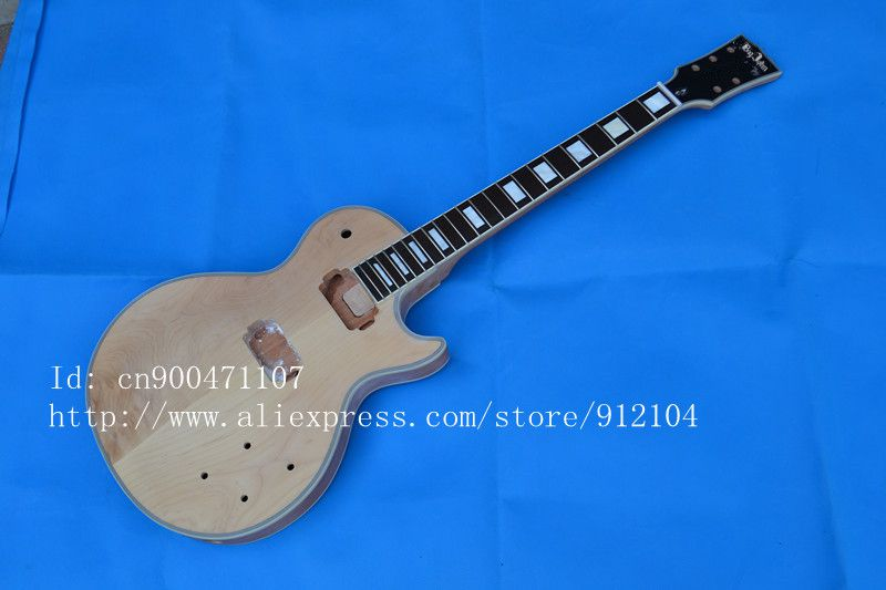 new semi-finished electric guitar with ebony fingerboard super thick neck  made in China+EMS free shipping F-1820 vicers guitars china maple fingerboard t ele caster electric guitar in stock free shipping