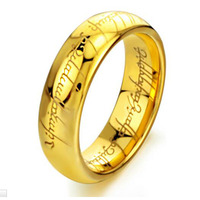 Tungsten bars and rods male ring accessories male fashion lord tungsten steel finger ring