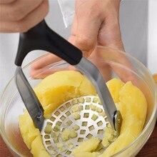 Кухонный пюре картофель устройство билайер грязь салат фрукты овощи Smasher инструмент из нержавеющей стали картофель Толкушка для пюре