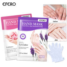 1/2Pair Whitening Hand Mask Exfoliating Mask for Hand Spa Gloves Moisturizing Whitening Peeling Mask for Hands Care Smooth Skin ultimate whitening mask