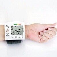 צג לחץ דם יד דיגיטלית מסך LCD צג דופק לב מכשיר כיבוי אוטומטי צריכת חשמל נמוכה