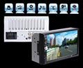 2 DIN Автомобильный Аудио Bluetooth 7 Дюймов HD Радио тире Жестким Экраном Стерео поддержка MP3 MP5 Mp3-плеер USB TF AUX