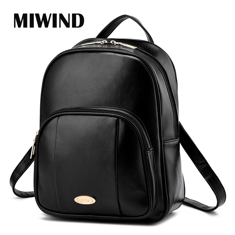 513667e8fdb9 Online Get Cheap Big Book Bags for School -Aliexpress.com ... High Quality  Leather Backpack ...