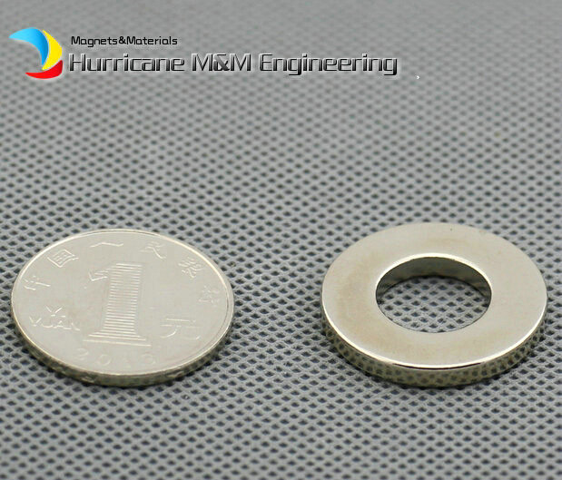 1 Pack NdFeB Magnet Ring OD 25.4x12.7x3.175 mm Diameter 1'' x 1/2'' x 1/8''  Strong Magnets Axially Magnetized Rare Earth Magnet 1 pack diametrically ndfeb magnet ring diameter 9 53x3 18x3 18 mm 3 8 1 8 1 8 tube magnetized neodymium permanent magnets