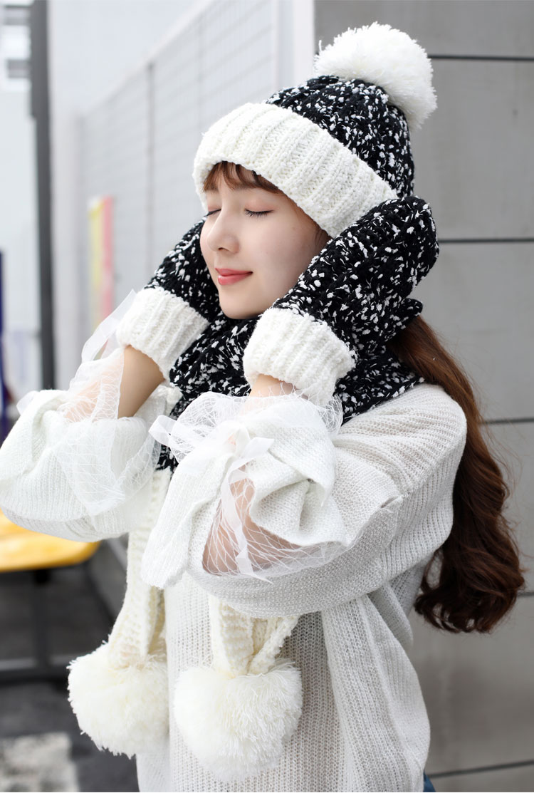 at and scarf set hat and scarf women\`s knitted hat and scarf for women Hat & Glove Sets hat and scarf set winter hat and scarf sets (14)