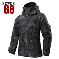 2015 Winter G8 ECWCS Windbreaker Typhon Hoody Softshell Jacket M-65 Field Coat with Liner