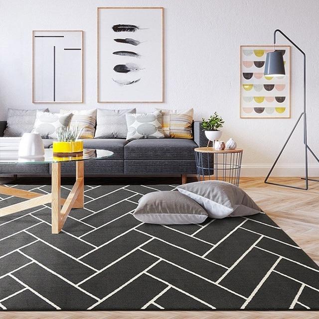 carpet for bedroom. 2 sizes Nordic Carpet For Living Room Area Rug Rugs  Bedroom Jute