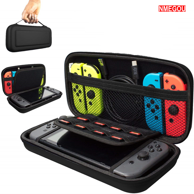 For Nintend Switch Hard Shell Case EVA Portable Carrying Storage Bag for Nitendo Switch NS Console Travel Full Cover AccessoriesFor Nintend Switch Hard Shell Case EVA Portable Carrying Storage Bag for Nitendo Switch NS Console Travel Full Cover Accessories