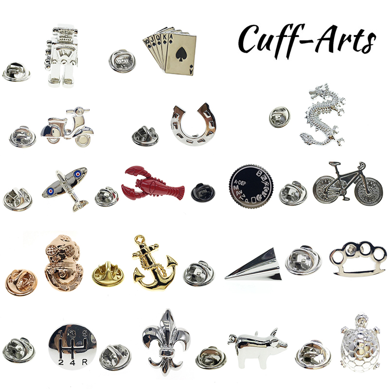 Cuffarts Animal Lapel Pin For Men 2018 Fashion Dragon Brooch Lapel Pin Men Jewelry Fly Trendy Badges High Quality PT006