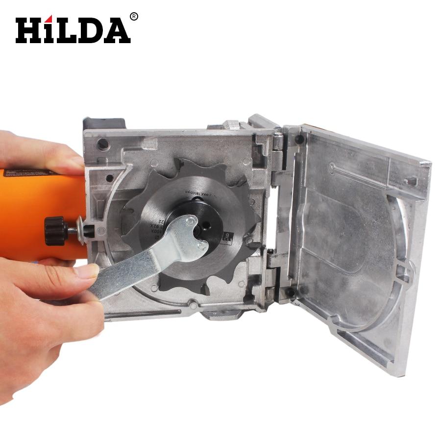 HILDA 760W Biscuit Jointer Elektrisch gereedschap Houtbewerking - Elektrisch gereedschap accessoires - Foto 3