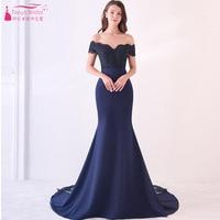 Vestido De Festa Longo Mermaid Bridesmaid Dresses Floor Length Custom Made Long Party Dress Cheap Bridesmaid Gowns 2018 DZB065