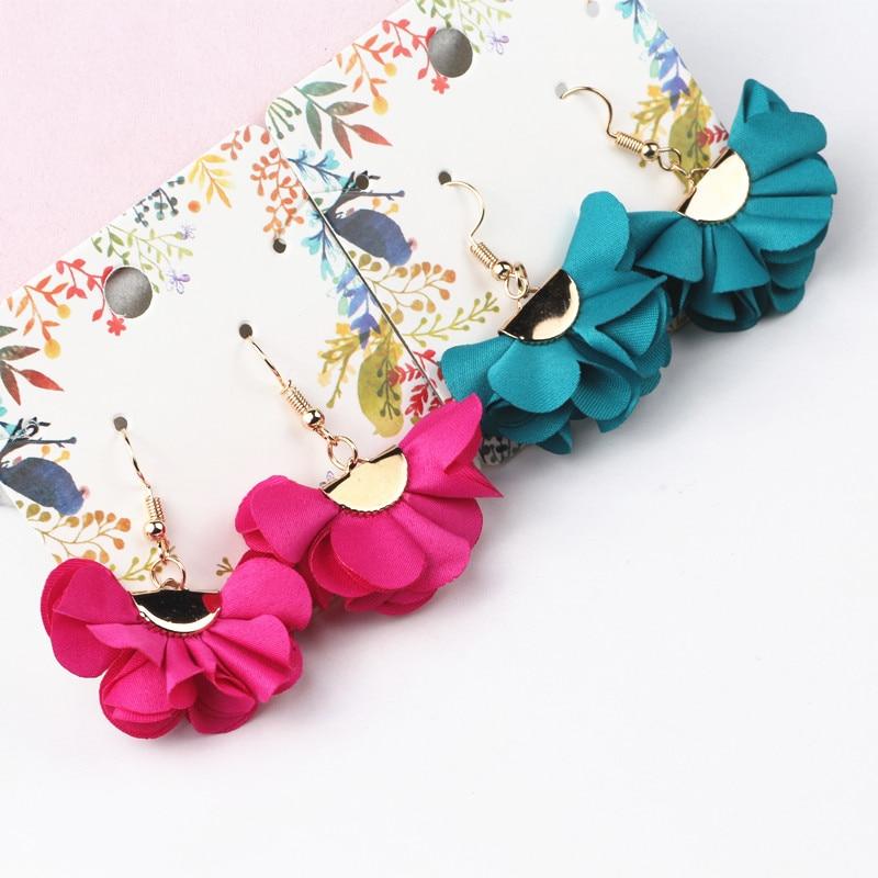Fashion Handmade Earrings For Women Bohemian Style Woman Tassel Earring Female Jewelry Bridal Fringed Vintage Earrings Gifts