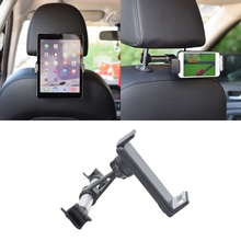 Universal Alloy Car Back Seat 4-11 inch Smart Phone Tablet Holder Bracket Mount Drop Shipping Support