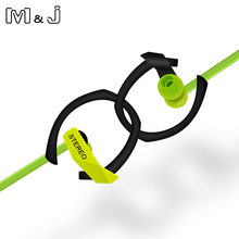 Nowy 3.5mm w uchu Super Bass Sport słuchawki słuchawki Stereo Running słuchawki z mikrofonem na PC Iphone Samsung Xiaomi