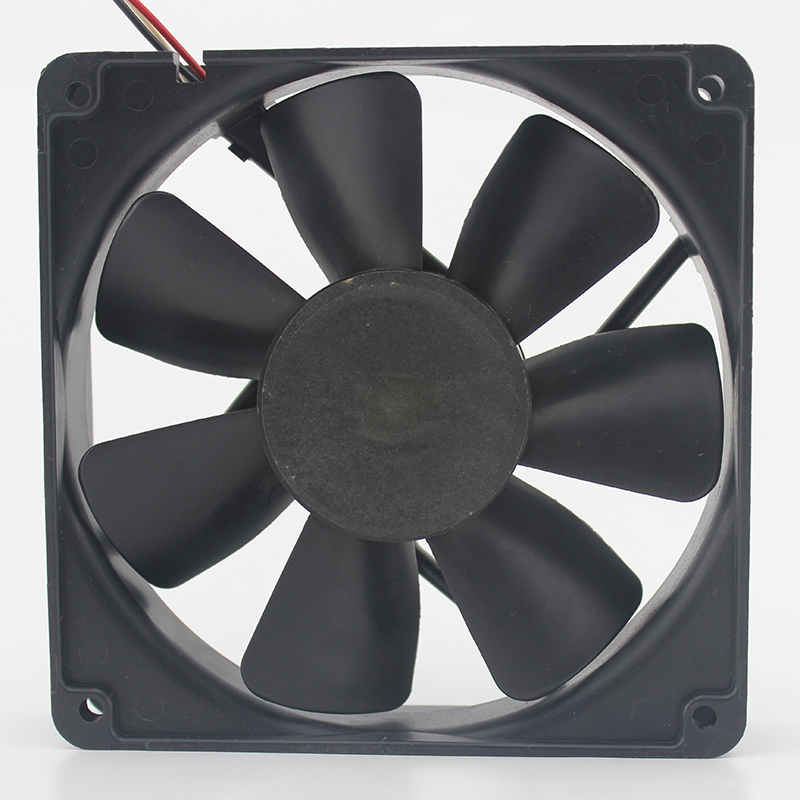 New 4710NL-04W-B49 12025 12cm 0.44A chassis double ball bearing fan for NMB 120*120*25mm