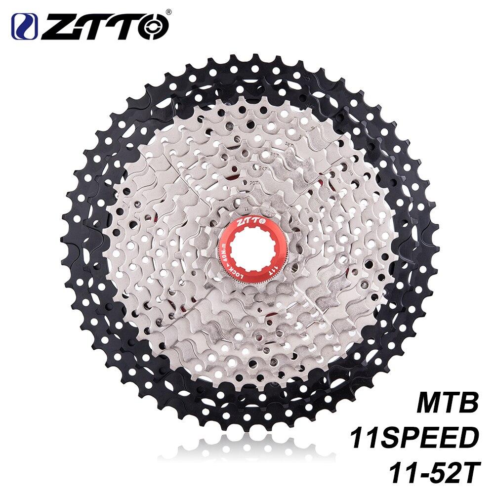 ZTTO vélo vtt 11 vitesses L box 11 s 11-52 T rapport large volant moteur VTT pièces de vélo k7 X1 XO1 XX1 m9000