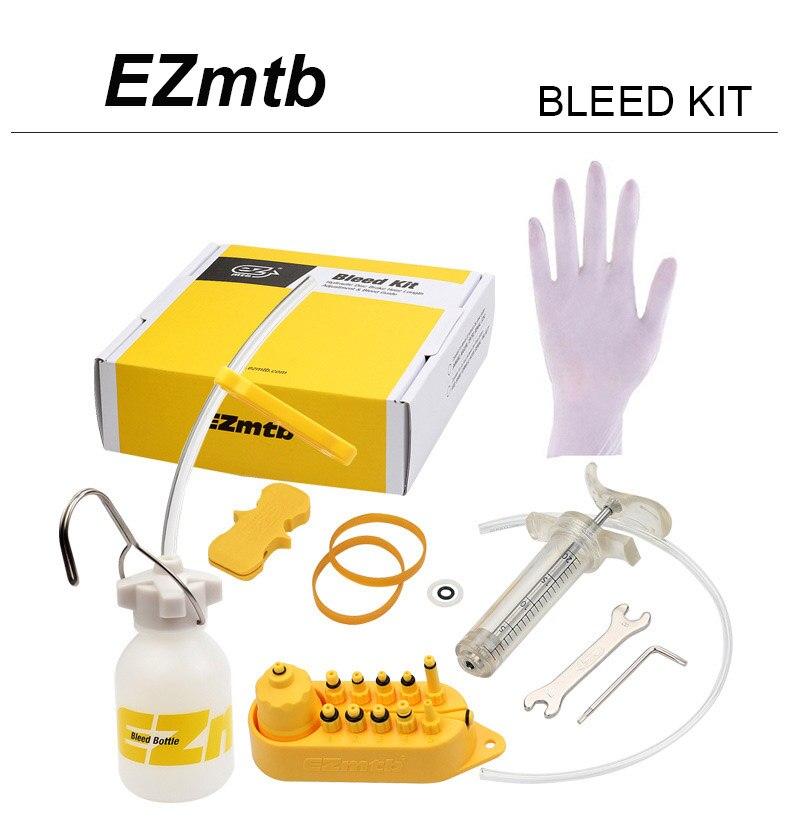 Bicycle Hydraulic Disc Brake Bleed tool kit for SHIMANO/&Tektro professional EZ