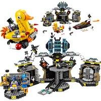 Bela 10636 Legoings Batman Movie Batcave Break in Superhero Toy Bricks Sets Building Block Bricks Toys Compatible 70909