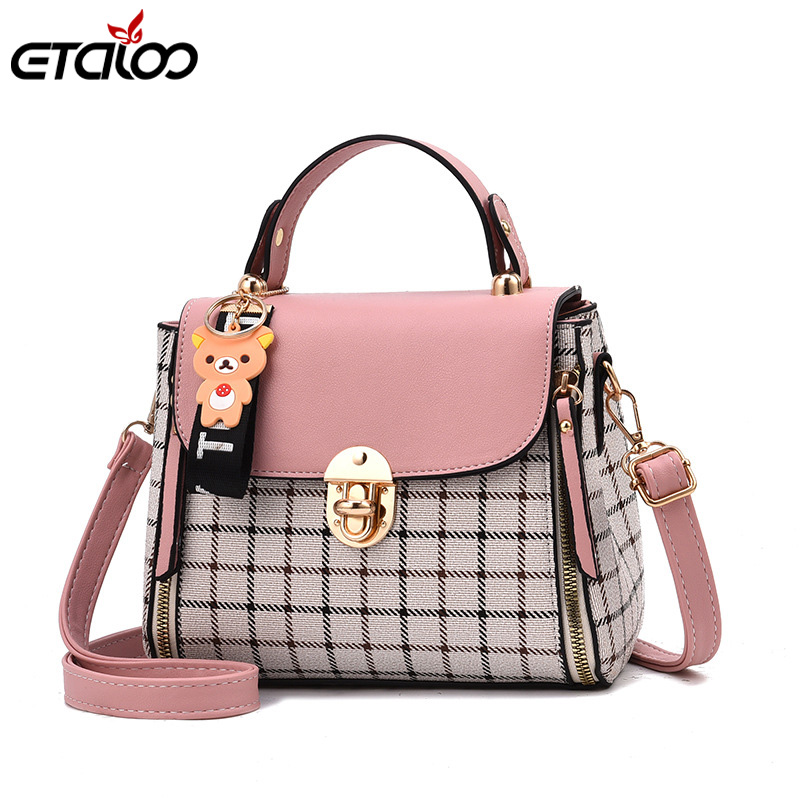 Luxury Women Messenger Bags Designer Woman Bag 2019 Brand Leather Shoulder Bags Tote Bag Women's Fashion Handbag(China)