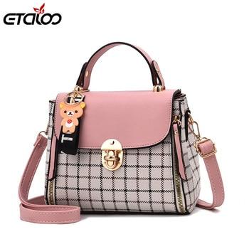 c0d40cf48eb4 Роскошные женские сумки-мессенджеры, дизайнерская женская сумка 2019,  брендовая кожаная сумка-тоут, женская модная сумка