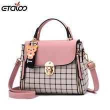 Роскошные Для женщин Курьерские сумки дизайнерские женские сумка 2018 брендовые кожаные сумки на плечо сумка Женская мода сумки