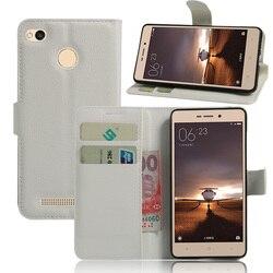 Pour Xiaomi Redmi 3 Pro 3 s Téléphone Cas Fundas Capa Magnétique Flip en cuir de Stand De Couverture de Portefeuille Titulaire de la Carte Pour Xiaomi Redmi3 Pro 3 S