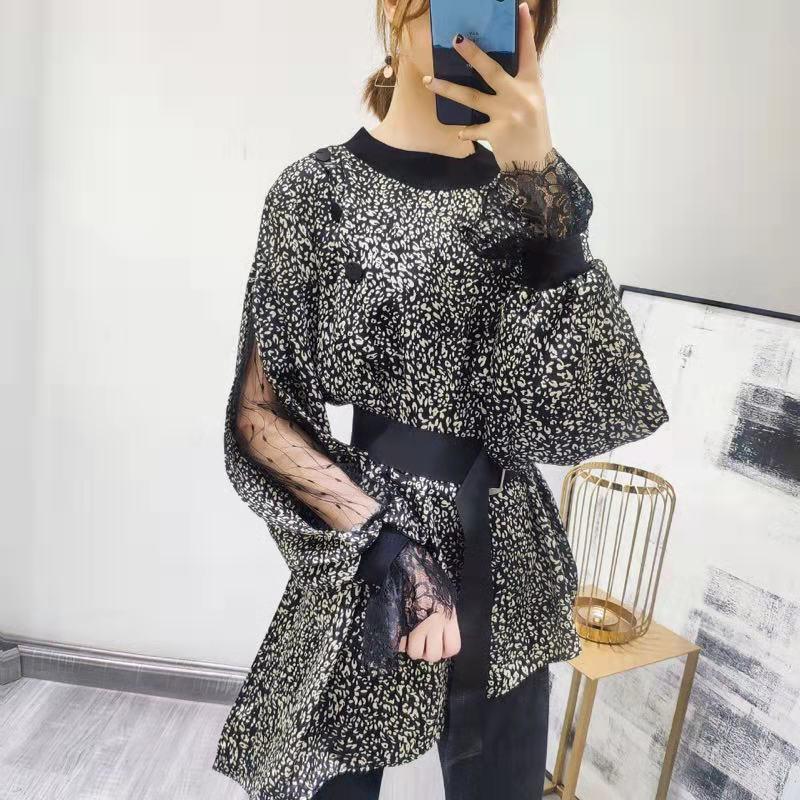 ee2aea29b369 De Européenne Design Chemises Femmes amp  Marque Mode Style Partie Piste  D02767 Vêtements Blouses 2019 Luxe ...