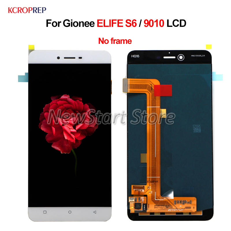 For Gionee ELIFE S6 9010 LCD Display Touch Screen Digitizer Assembly 5.5 No Frame For Gionee S6 9010 lcd Replacement AccessoryFor Gionee ELIFE S6 9010 LCD Display Touch Screen Digitizer Assembly 5.5 No Frame For Gionee S6 9010 lcd Replacement Accessory