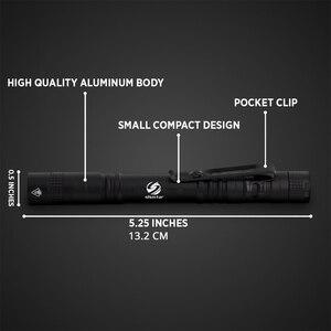 Image 2 - Mini stylo lumineux Portable, lampe de poche LED 1000 lumens, 1 Mode de commutateur, pour dentiste et randonnée, lampe de poche led
