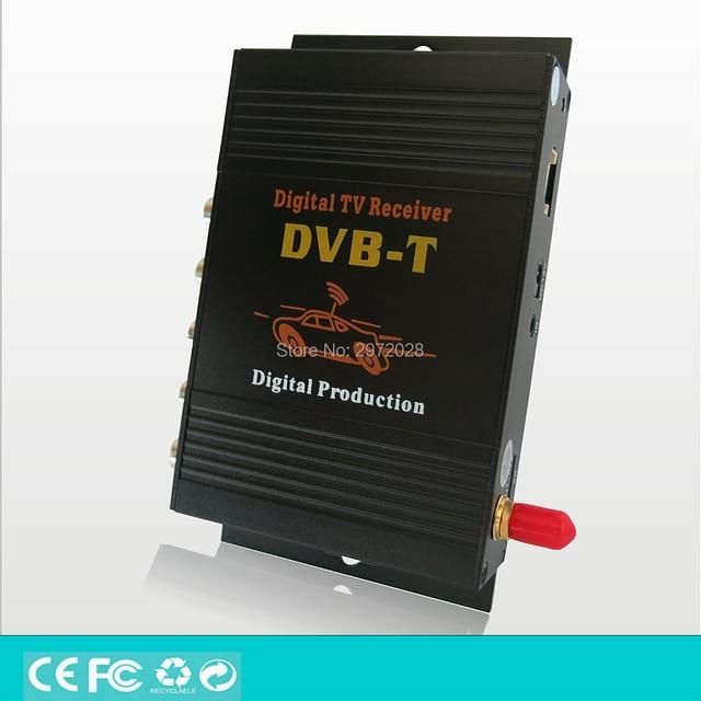 Carro DVB-T HD 1080 P HDMI CVBS Móvel Receptor de TV Digital Móvel carro DVB-T MPEG4 MPEG2 Sintonizador HD Receptor de TV Digital Box Set