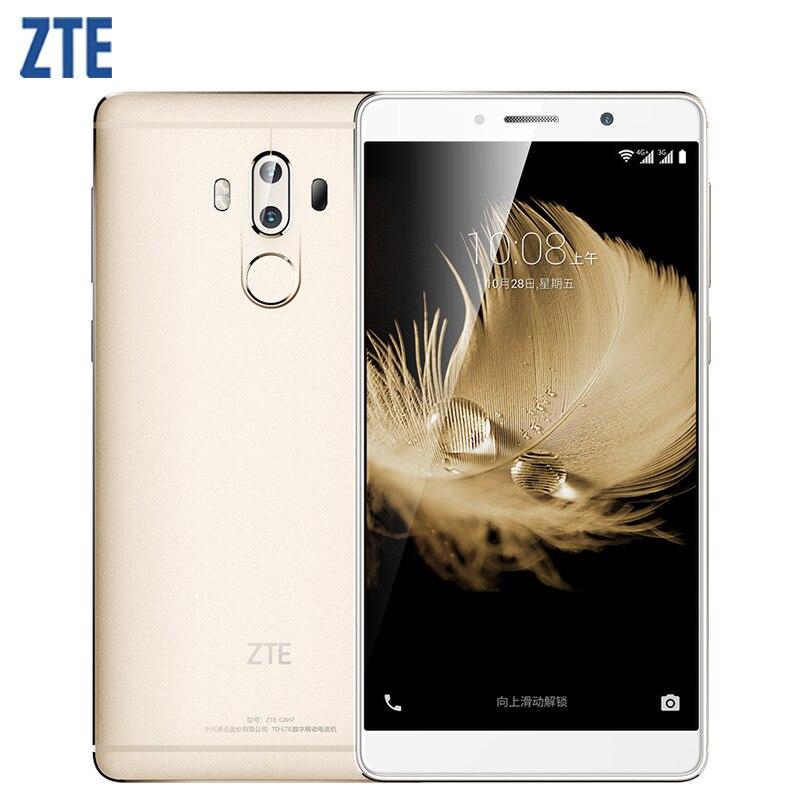 Original ZTE Axon 7 Max Cell Phone 4GB RAM 64GB ROM Snapdragon 625 Octa Core 6