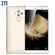 """Оригинальный ZTE Axon 7 Max сотовый телефон 4 ГБ Оперативная память 64 ГБ Встроенная память Snapdragon 625 Octa Core 6.0 """"Экран двойной 13.0MP Камера отпечатков пальцев 4 г LTE"""
