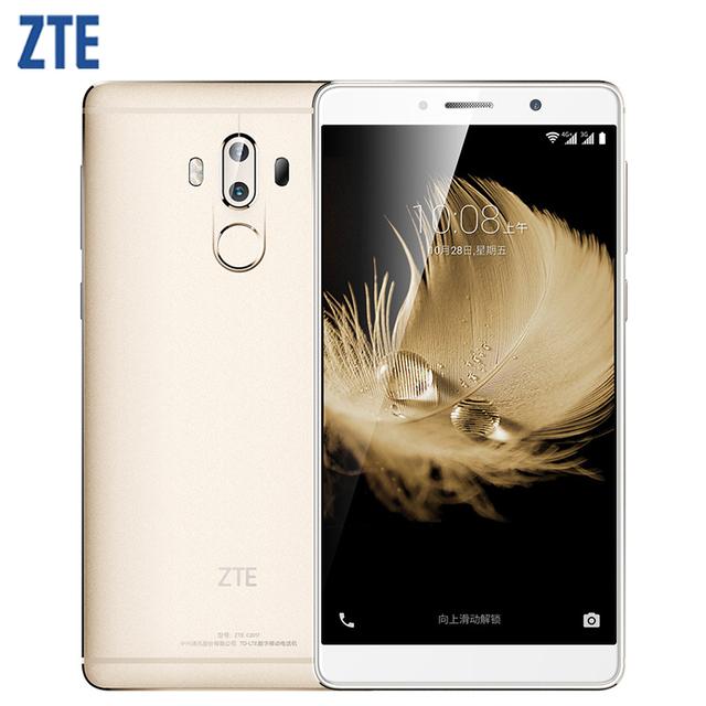Original ZTE Axon 7 Max Cell Phone 4GB RAM 64GB ROM Snapdragon 625 Octa Core 6.0″ Screen Dual 13.0MP Camera Fingerprint 4G LTE