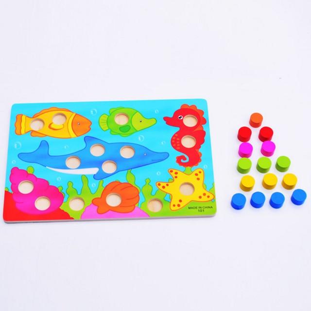 Juegos de mesa para niños, juegos educativos Montessori, juego de cartas de madera para niños, juegos divertidos, juguetes nuevos