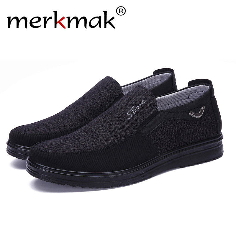 Merkmak 2019 Men High Canvas Shoes Male Summer White High Quality Casual Shoes Breathable Flat Shoes Hombre Large Size 38 50-in Men's Casual Shoes from Shoes