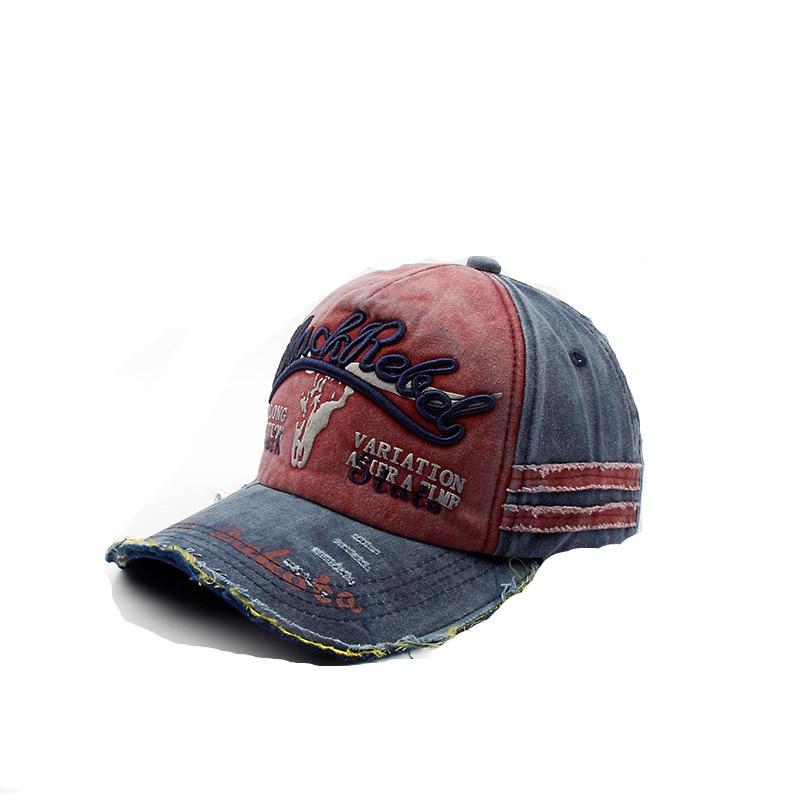 1df9bfc1004 New 2018 vintage washed baseball trucker cap Patch Letter dad Hat Cowboy cap  Sun Hat bone snapback basecap hats caps men gorras -in Baseball Caps from  ...