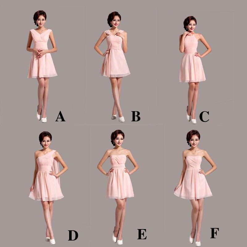 Different dress neckline styles for short