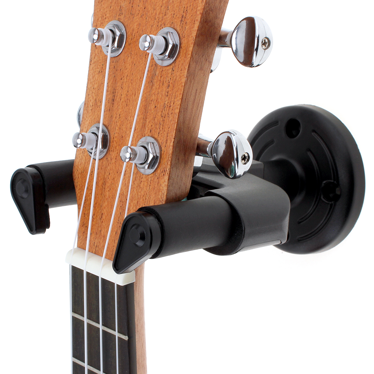 50mm Neck Width Wall Mount Soft Sponge Guitar Hanger Holder with Non-slip Hook for Guitar / Bass / Violin / Mandolin / Ukulele