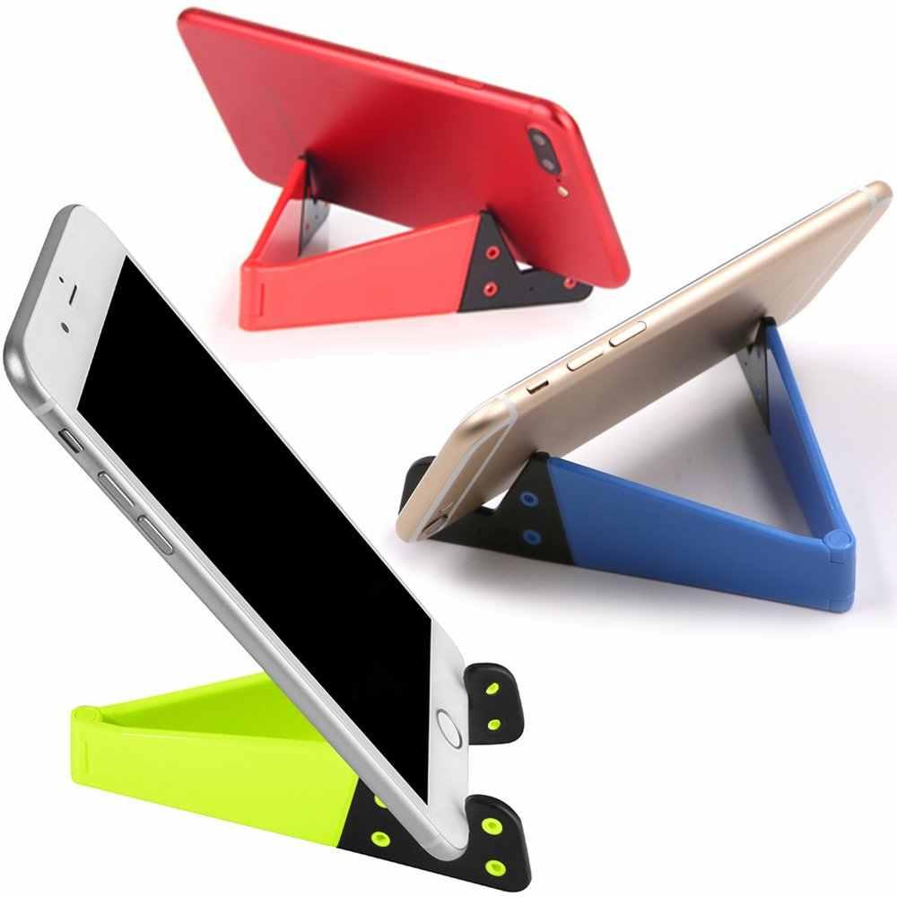 شيري العالمي المحمولة طوي الخامس نموذج حامل هاتف المحمول آيفون XS ماكس شاومي سامسونج باد حامل سطح العمل جبل مهد