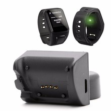 USB Data Charging Cradle Cable Charger For TomTom Spark Cardio GPS Sport Watch