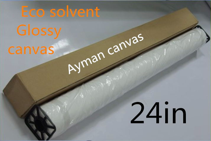"""Diplomatic 24""""*30m Premium Waterproof 260gsm Polyester Glossy Inkjet Canvas Roll,solvent Based Stretch Canvas Fabric"""