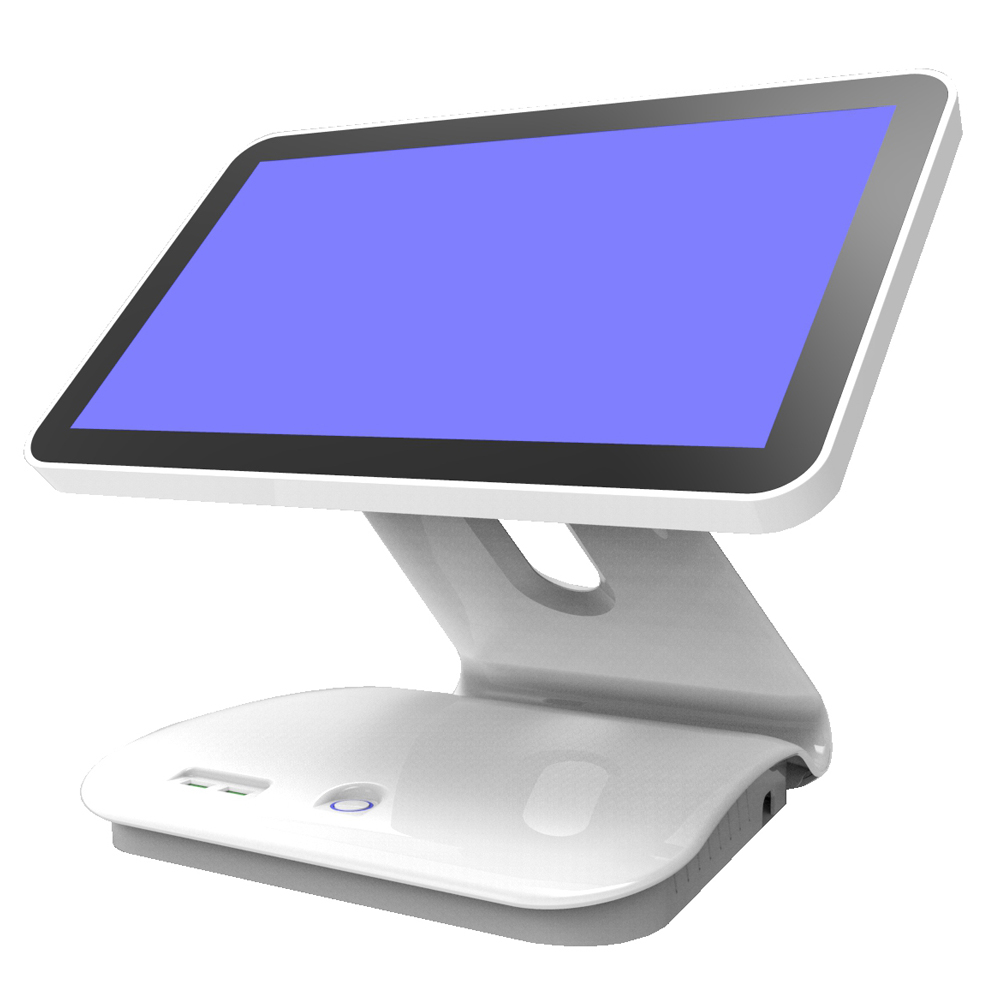 Single Pos System All in One epos Terminal Touch Screen POS with Optional Professional Restaurant Software