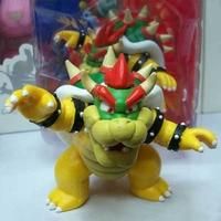 12cm Koopa Super Mario Plush 3D Land Bone Kubah Bowser Super Mario Bros Luigi Mario Yoshi