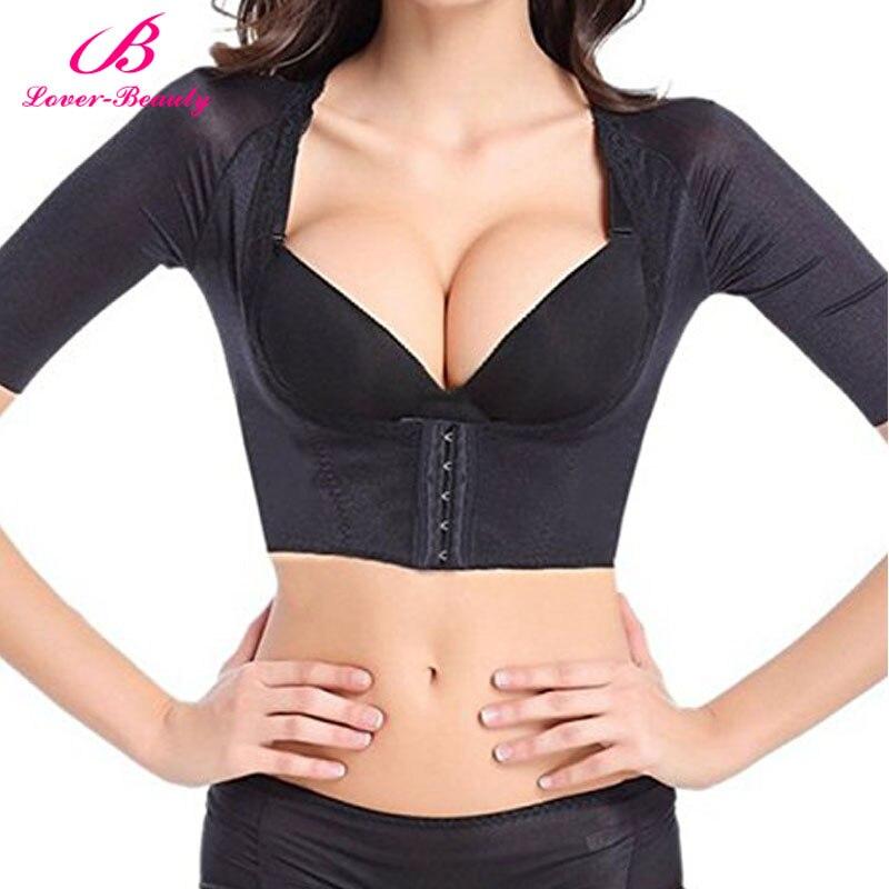Lover Beauty Womens Shapewear Tops Wear Your Own Bra Short Sleeve Crop Top Arm Shapers