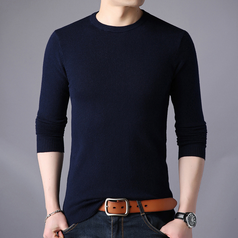Image 2 - Free shipping New Fashion 2019 Spring Autumn men Wool Pullovers Man Sweaters Pullover-in Pullovers from Men's Clothing