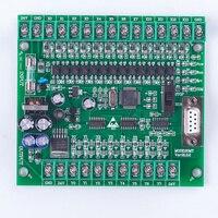 plc programmable logic controller plc FX2N 20MT online download STM32 MCU 12 input 8 transistor output motor controller DC 24V