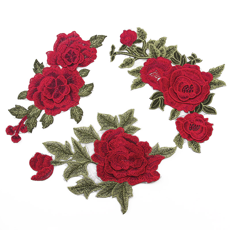 Online buy wholesale free embroidery appliques from china