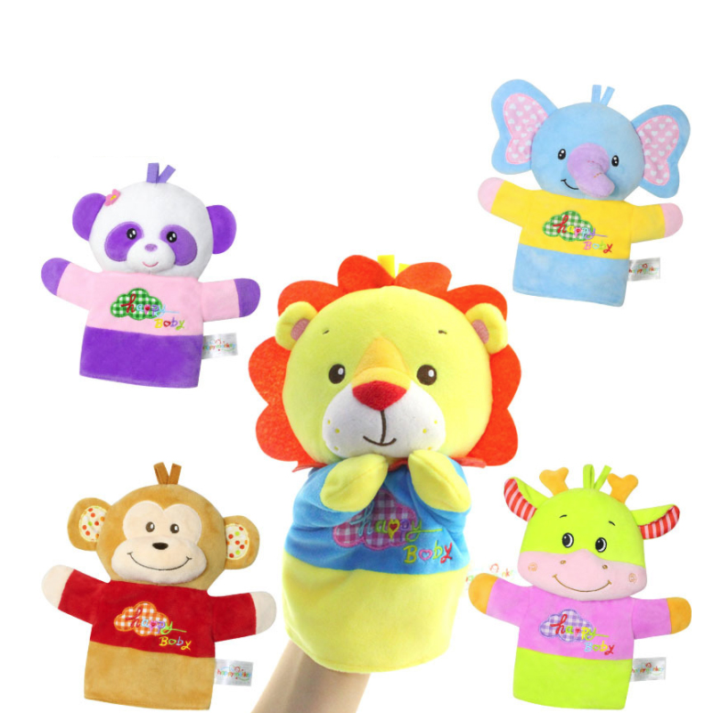 Baby Hand Puppet Interaction Doll Toy Finger Puppet Baby Soothing Puzzle Toy Plush Toys Multifunctional Grasping/Comforting DollBaby Hand Puppet Interaction Doll Toy Finger Puppet Baby Soothing Puzzle Toy Plush Toys Multifunctional Grasping/Comforting Doll